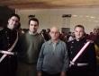 Con la AM Santa Cecilia y Manuel Rguez Ruiz