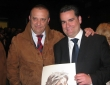 Con mi gran amigo y pintor Luis Rizo