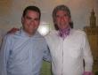 Con el cantaor Manolo Paradas