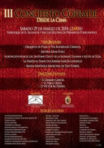 cartel concierto peñarroya
