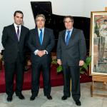 Con D. Juan Ignacio Zoido y D. Gregorio Serrano