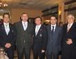 Con Juan Santos, Esteban Romera, José M. Clavero y Juan Nicasio de los Santos